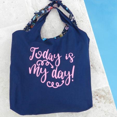 Maxi sac réversible de plage