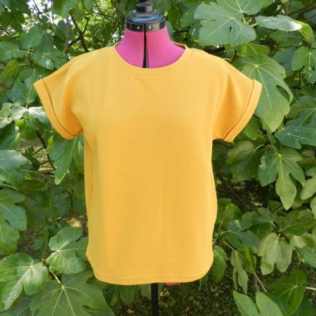Cours de couture d'un tee shirt