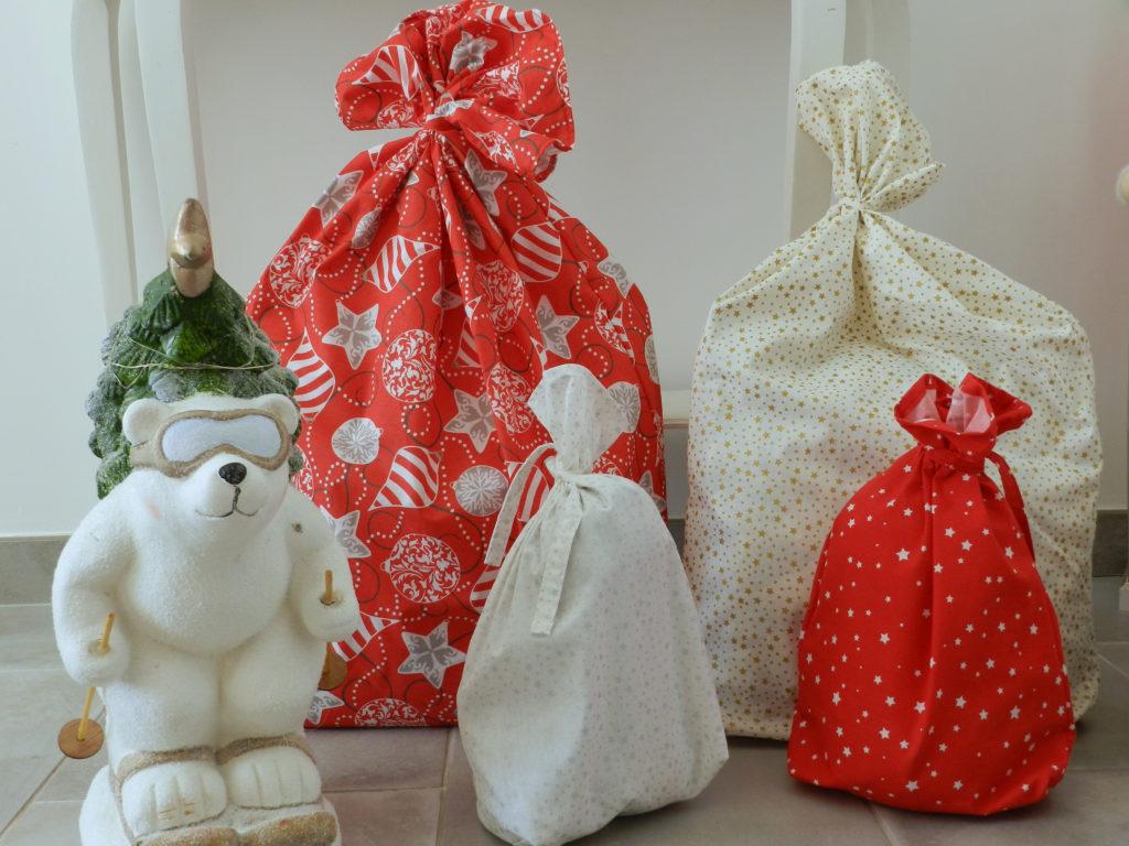 Cours de couture de sacs à cadeaux