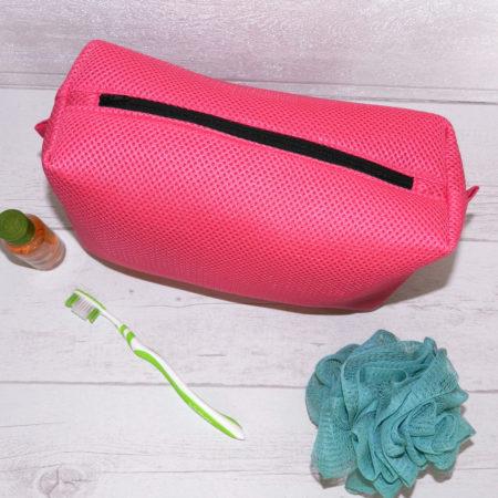 Trousse de toilette rose